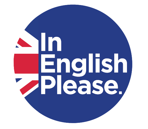 logo de In English Please