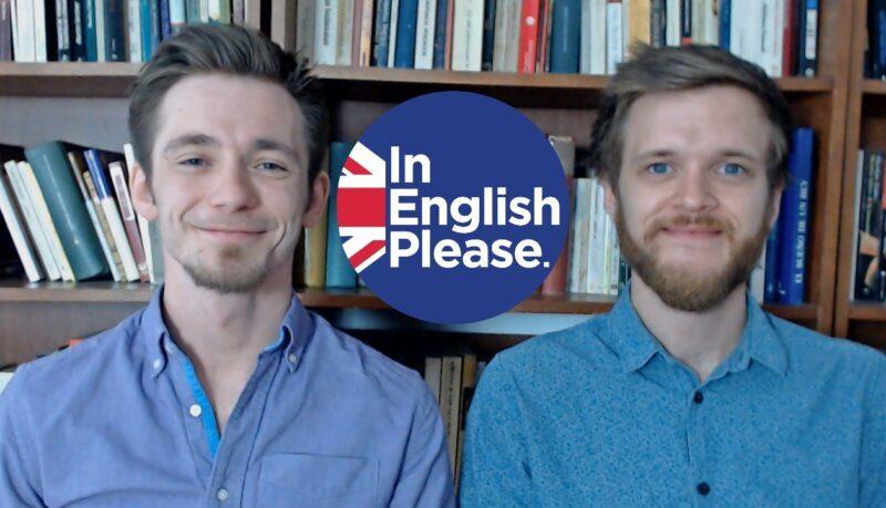 dos profesores de inglés nativos