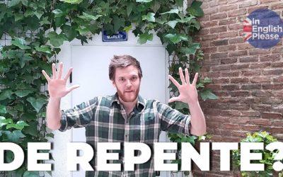¡Boom! Aprende 9 formas de decir de repente en inglés en 2 minutos