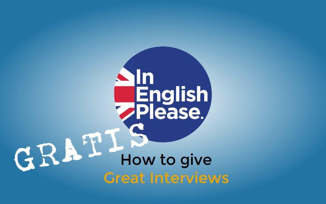 Practica tu entrevista de trabajo en inglés