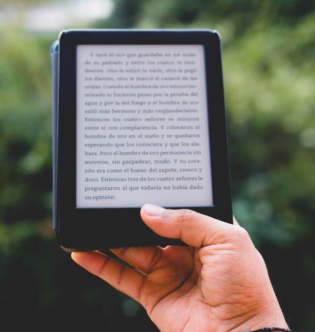 El kindle: más que un libro para aprender inglés